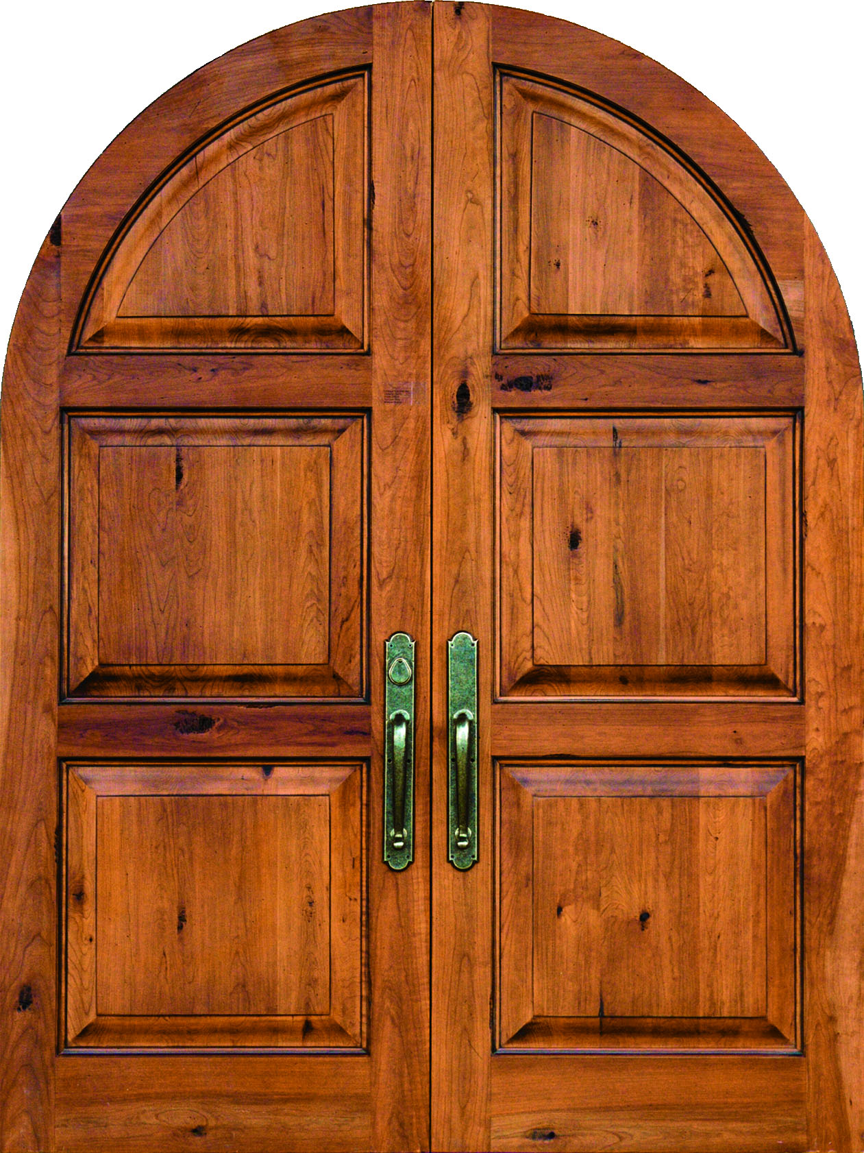 Arch top doors and arched door frames sun mountain door for Arch door design