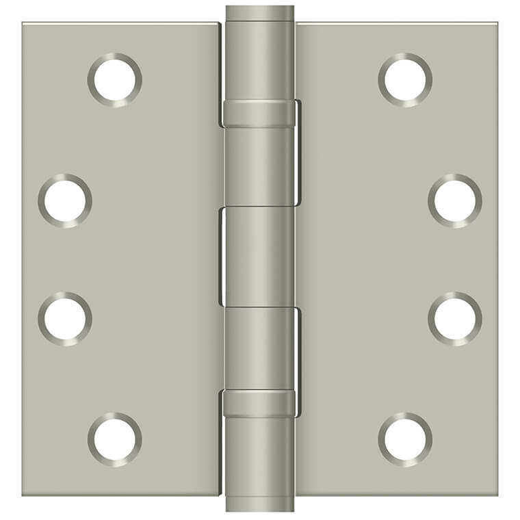 Satin Nickel Hinge